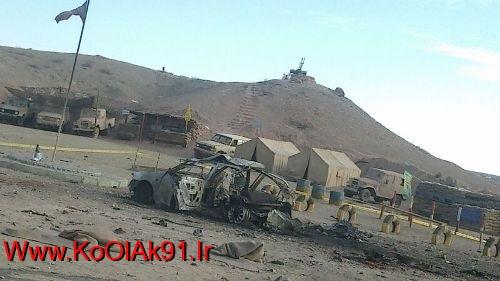 """تصاویری از محل حادثه در فیلمبرداری""""معراجی ها""""+عکس"""